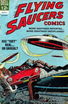 FLYING SAUCERS COMICS 4