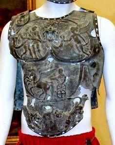 Pompeii Italy, Pompeii And Herculaneum, Roman Gladiators, Roman Armor, Ancient Armor, Roman Warriors, Roman Gods, Roman Sculpture, Art Antique