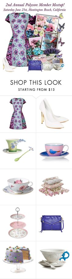 """""""2nd Annual Southern California Polyvore Meetup!"""" by rachel ❤ liked on Polyvore featuring Hostess, Mary Katrantzou, Casadei, Franz, Wedgwood, Cotton Tale Designs, Ashdene, LSA International, Seletti and polyvoremeetup"""