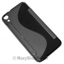 SSYL CUSTODIA SILICONE S-LINE COVER TPU BACK CASE GEL HTC DESIRE 820 / 820 DUAL SIM BLACK NERA - SU WWW.MAXYSHOPPOWER.COM