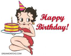 happy birthday to betty boop