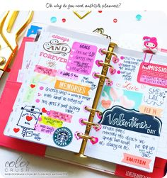 Color Crush Planner with Florence