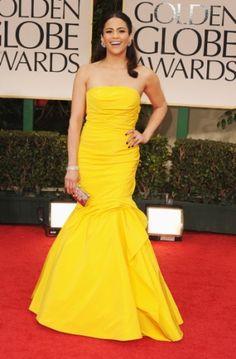 Paula Patton - Golden Globes 2012