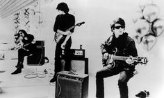 An early photo of Lou Reed and John Cale, two of the original members of the band Velvet Underground. | 25 Classic Photos Of Lou Reed You Have To See