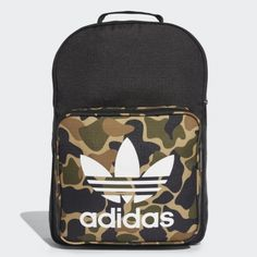 186b60600a2d1 adidas Originals Classic Camouflage Backpack