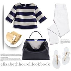 My Wardrobe Adventures! by elizabethhorrell on Polyvore featuring Chicwish, Tory Burch, Fendi and Bling Jewelry