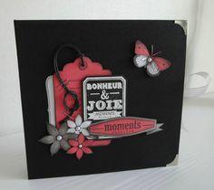 1 Mini Albums Scrapbook, Scrapbook Cards, Embellishments, Birthday Cards, Ideas Para, Minis, Inspiration, Design, Paper
