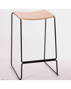 The Colorado is another addition to Cintesi's wire stool range. Manufactured from fully welded together wire, powder coated black with natural plywood seat pan this stool is a new must have!