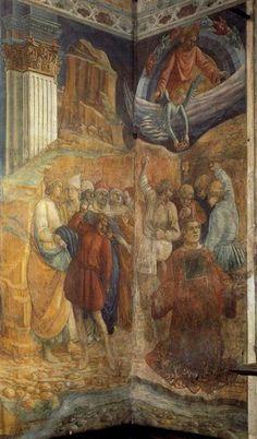 The Martyrdom of St. Stephen Filippo Lippi