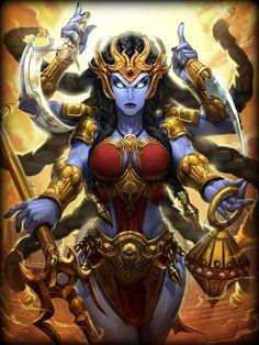 Kali Goddess of Egypt Death | 500px-Kali.jpg