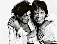 Keith Richards and Mick Jagger... Keith's biography is a damn good read!