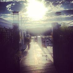 A BLU sunrise #sunrise #ocean