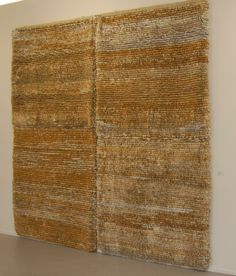 Jo Mcdonald tapestry - second hand books and cotton warp
