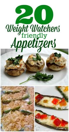 20 Weight Watchers Friendly Appetizers from This Mama Loves.