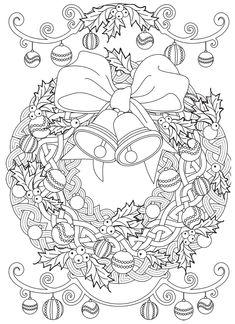 Welcome to Dover Publications Dover Coloring Pages, Adult Coloring Pages, Coloring Sheets, Free Coloring, Coloring Books, Youth Activities, Dover Publications, Christmas Coloring Pages, Christmas Colors