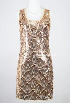 Robe année 20 - Robe Charleston - Style Gatsby le magnifique