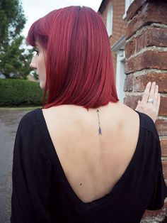 delicate arrow tattoo