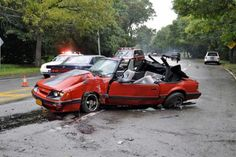 1986 Ford Mustang Wrecks