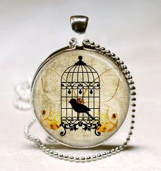Vintage Birdcage Jewelry Vintage Birdcage by vintagewithflair, $8.95