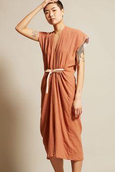 Miranda Bennett Vision Dress in Noon Cotton Gauze