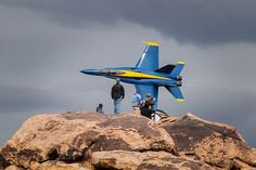 The Blue Angels air show in St. George, Utah. I have great memories as a boy watching these guys, while sitting on a tailgate.