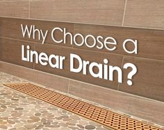 Linear drain does more than look cool and is far beyond an embellishment but an improvement. It is an essential part of the plumbing system of your shower. Linear Drain, Luxury Shower, New Toilet, Walk In Shower, Small Tiled Shower Stall, Tile Shower Drain, Shower Pan, Bathtub Shower, Shower Floor