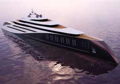 Eclipse is currently the world's largest private yacht at a whopping 557 ft. Uiiii