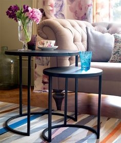 With our side table set