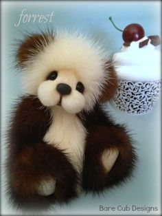 Forrest - Bare Cub Designs by Helen Gleeson. A cupcake collection $419