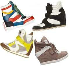 Wedge sneaker trend for Spring 2012. Love it or leave it?