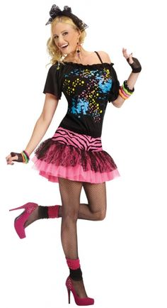 80's Costume for this Halloween?! yes, I think so.