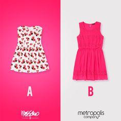 La prenda más femenina seguirá destacándose en primavera. ¿Cuál de estos vestidos te gusta más?