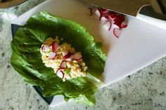 Chicken Lettuce Wraps using Maple Leaf Flakes of Chicken. #letsdopicnic