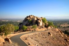 Hiking  Mt Rubidoux 3