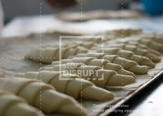 #Croissant #Dough Waiting to Be #Baked