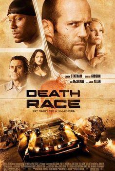 Death Race (2008).Es una película entretenida cuya única pretensión es entretener y sin duda lo consigue, gracias sobre todo a unos efecto especiales más que correctos y a un ritmo frenético, que no deja tiempo para desviar la vista de la pantalla