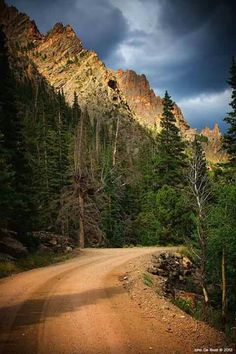 Old Fall River Road - Rocky Mountain National Park.