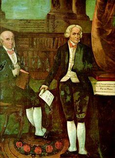 """Visconde de Cairú e José Bonifácio de Andrada e Silva"" (by R. Nunes)."