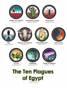 The Ten Plagues of Egypt. Easy for the kiddies to learn. Plagues Of Egypt, 10 Plagues, Moses Plagues, Bible Story Crafts, Bible Stories, Sunday School Lessons, Sunday School Crafts, Family Worship Night, Moise