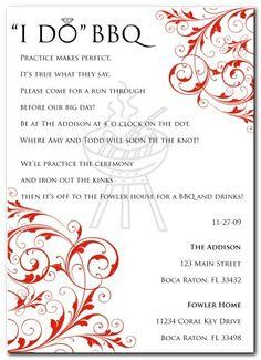 Imagenes De Pre Wedding Party Invitation