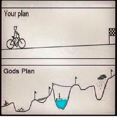 God's plan is going to make you stronger.