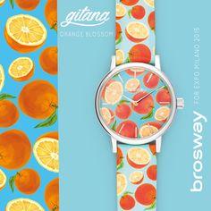 Orologio donna Brosway Expo 2015, Orange brosway watch