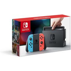 Nintendo Switch - Neon Blue and Red Joy-Con *** Check out this great product. (This is an affiliate link) #VideoGames