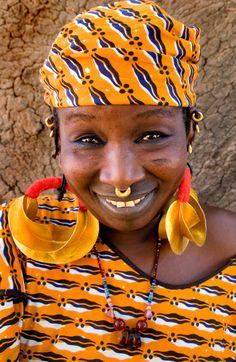 Africa   Fulani woman in Mopti.  Mali   ©Steven House