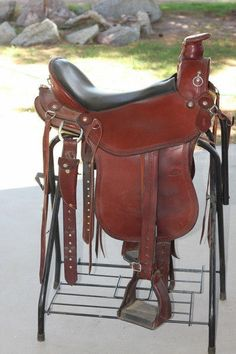 Allegany Mountain Trail Saddle , breast collar, headstall, crupper. Custom made My saddle I have to sell.