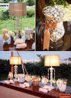 Wedding Reception Candy Bar / Buffer de dulces