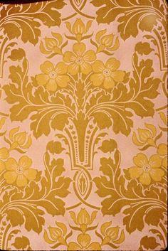 M. H. Birge & Son. Wallpaper, ca. 1890. Paper, 21 3/4 x 33 1/2 in. (55.2 x 85.1 cm). Brooklyn Museum, Gift of Arlene M. and Thomas C. Ellis, 82.239.32 (Photo: Brooklyn Museum, CUR.82.239.32.jpg)