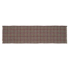 Everson - Burlap Plaid - 13x48 - Dresser/Table Runner