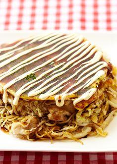 広島風お好み焼き のレシピ・作り方 │ABCクッキングスタジオのレシピ | 料理教室・スクールならABCクッキングスタジオ