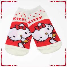 🌹FREE WITH PURCHASE🌹NWOT Hello Kitty Ankle Socks New without tag. White. One size fits most. Hello Kitty Accessories Hosiery & Socks